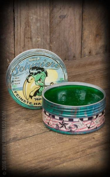 Rumble59 Schmiere Water Based Pomade Medium Hold rumble59 schmiere water based medium f 248 nix p 229 fisketorget