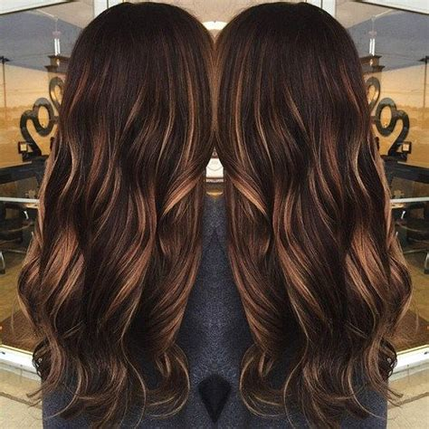 35 scrumptious vibrant hues for chocolate brown hair cheveux bruns brun fonc 233 and caramel on pinterest