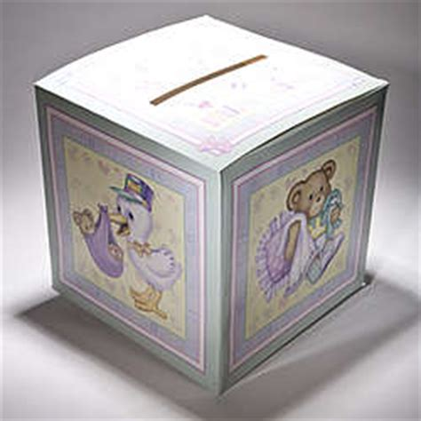 Baby Shower Gift Card Box - baby shower card box findgift com