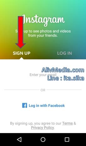 buat akun instagram android 4 langkah mudah cara buat akun instagram baru lewat hp android