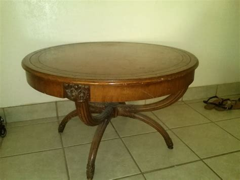 how much is my couch worth how much is my antique zangerle round coffee table worth
