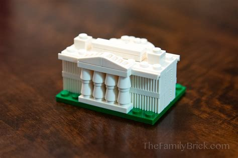 LEGO White House Building Instructions   The Family Brick