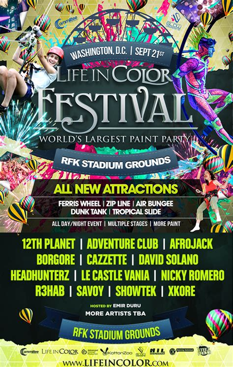 in color dc in color festival 9 21 at rfk stadium grounds club