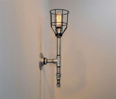 design house ajax galvanized 1 light bathroom wall sconce