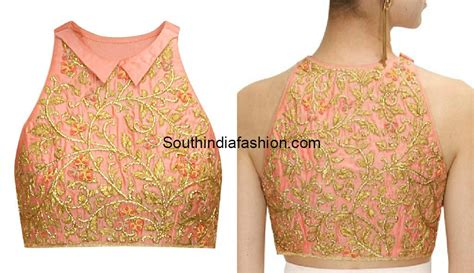 Halter Neck Blouse high neck blouse designs 10 trendy patterns south