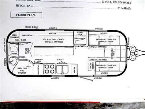 airstream floor plans freds airstream archives motorhome class a floorplans