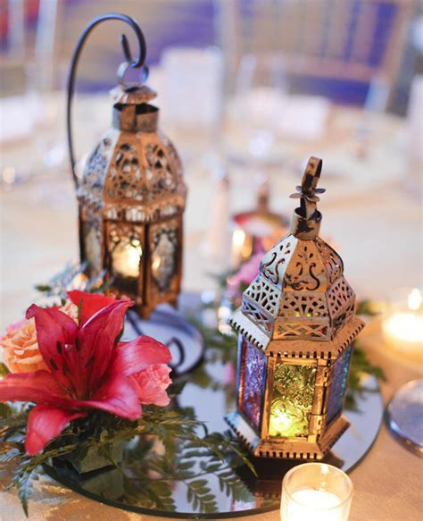 Ideas for Bronze and Copper Wedding Table Decoration