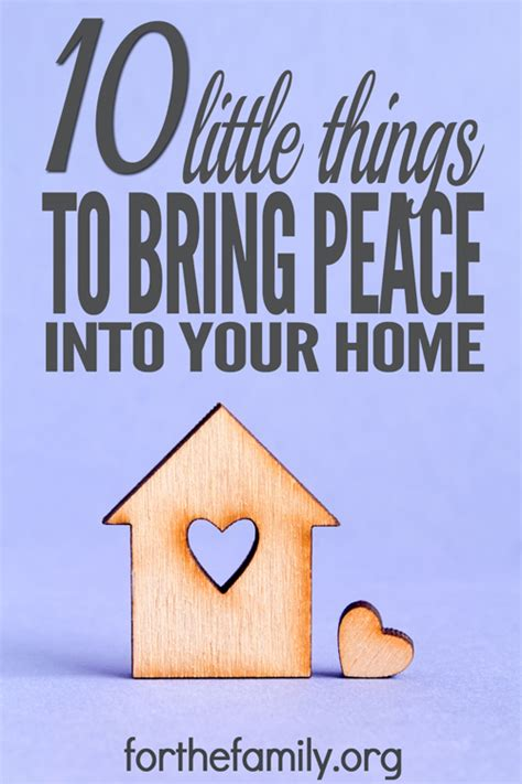 pictures for your home 10 little things to bring peace into your home for the