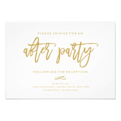 After Wedding Party Invitations Amp Announcements Zazzle