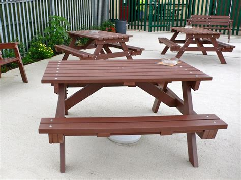 pretty plastic picnic tables reasons to choose plastic
