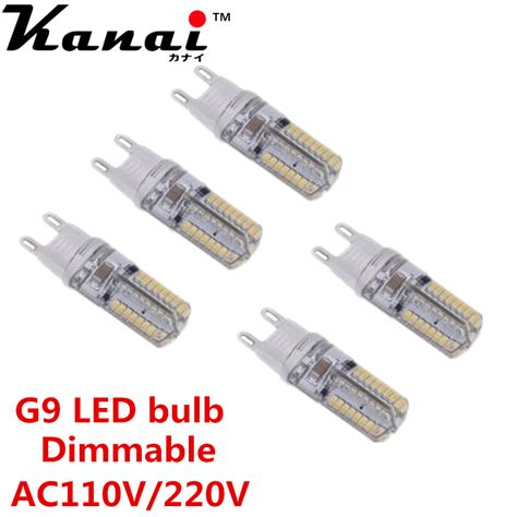 G9 Led Light Bulb Dimmable 5pcs Mini G9 Dimmable Lada Led Light 3w 3014 Smd 64
