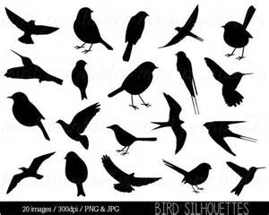 Flying Birds Wall Stickers bird clipart clip art bird silhouette clipart cute bird