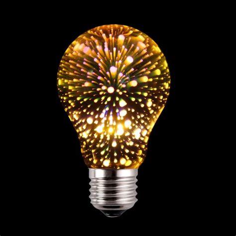 Decorative Led Lights by A19 3d Fireworks Led Decorative Bulb Yellow Light Led