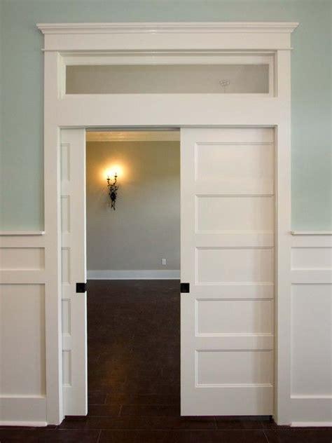 Opening For Pocket Door by Best 25 Pocket Door Ideas On Glass