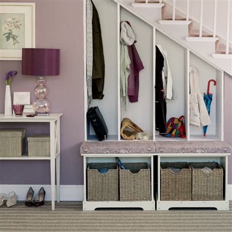 coat storage ideas under stairs storage and shelving ideas part 1 interior