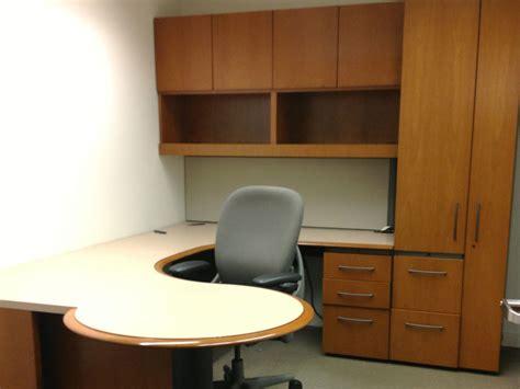 desk with overhead storage desks