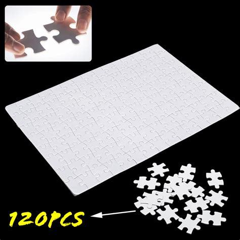 pcs diy blank puzzle thermal transfer paper
