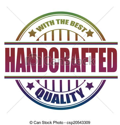 Handcrafted Pictures - vector clipart of handcrafted st handcrafted grunge