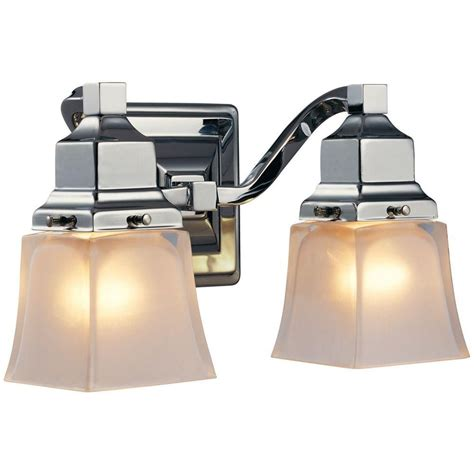 hton bay bathroom light fixtures hton bay vanity fixture the home depot canada