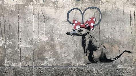 banksy artworks discovered  paris creative bloq