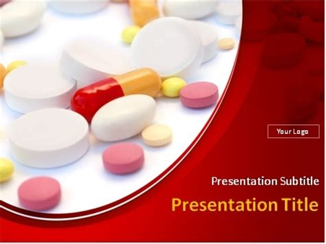 free pharmacy powerpoint templates pills tablets and capsules white