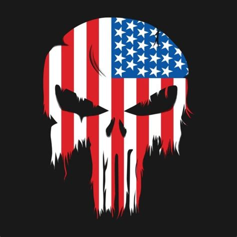 punisher flag t shirt the shirt list