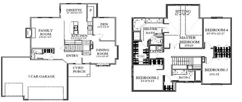 timberline homes floor plans floor plans timberline homes inc page 2