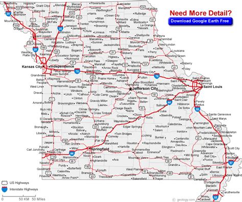 missouri map with county lines missouri county line map swimnova