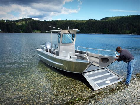 lake boats for sale bc 20 landing craft centre console aluminum boat by silver