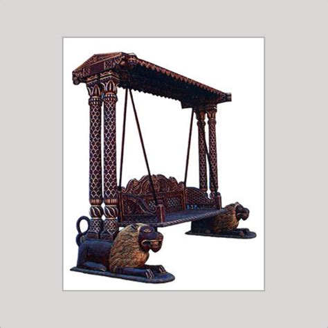 Designer Antique Wooden Swing In Ahmedabad Gujarat India