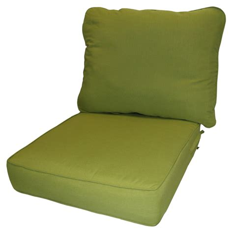 deep bench cushion greendale home fashions deep seat cushion set ebay