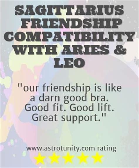sagittarius friendship compatibility
