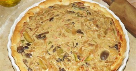 fruit quiche gourmand gourmet quiche aux fruits de mer et 224 la courgette