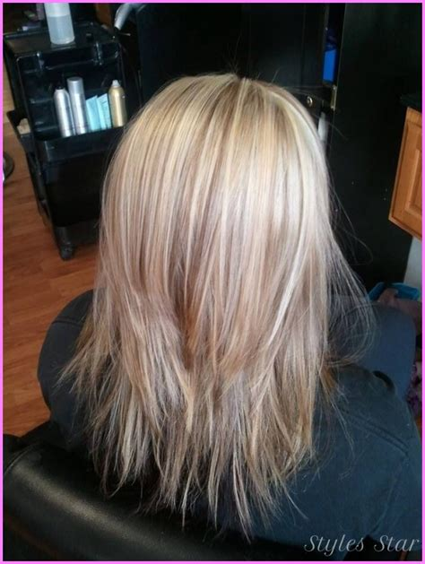 hair styles for back of medium length haircuts with layers back view stylesstar