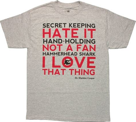 big bang theory fan gear big bang theory love list t shirt