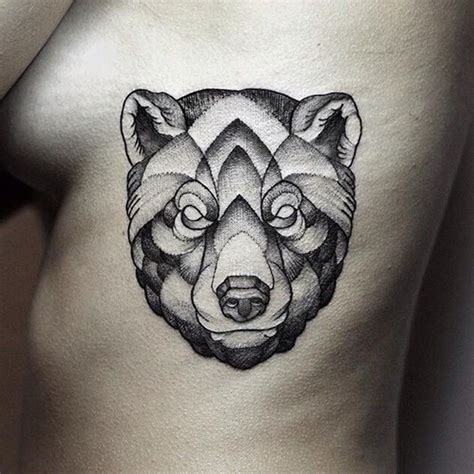 tattoo girl animal head 130 cute bear tattoos and meanings 2017 collection