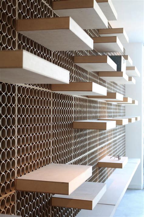 Shop Wall Shelving Dr York Optical Store By Dcpparquitectos Los Angeles
