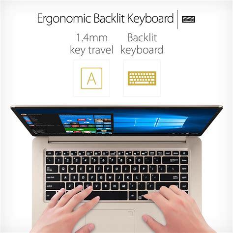 Asus S510uq Bq557 14 Fingerprint 1 asus vivobook s 15 6 hd laptop intel i7 7500u 2 7ghz 8gb ram 128gb ssd