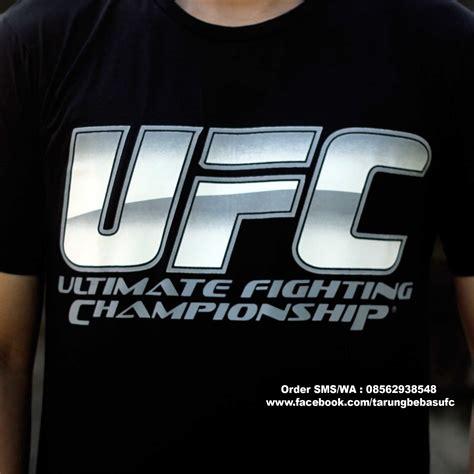 Tshirt Kaos Baju Fight baju ufc kaosufc kaosufc