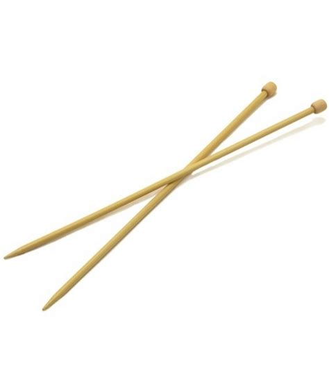 knitting with bamboo needles clover takumi bamboo knit needle single pt 13 quot size 10