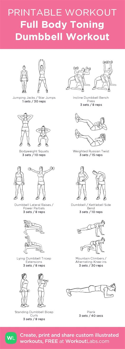 full body dumbbell workout no bench dumbbell workout routine without bench pdf eoua blog