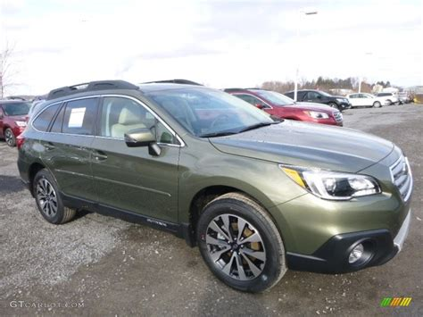 green subaru outback 2017 wilderness green metallic subaru outback 2 5i limited