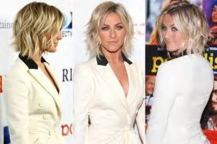 how does julienne hough style hair julianne hough tousles her lob stylenoted