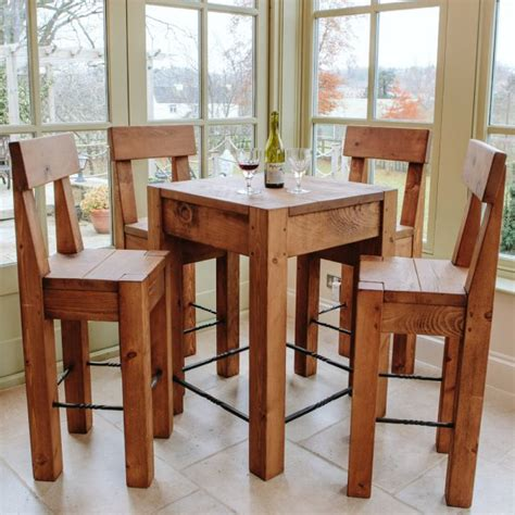 Bar Stool Dining Table Lumber Plank Table Stools Dining Package From Curiosity Interiors