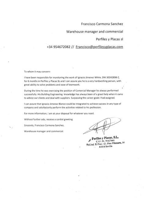 Recommendation Letter For Esl Student Recommendation Letter Pyp