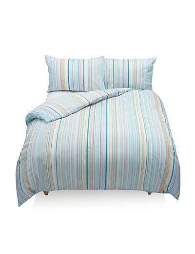 Striped Bedding Set M S M S Bed Linen Sets