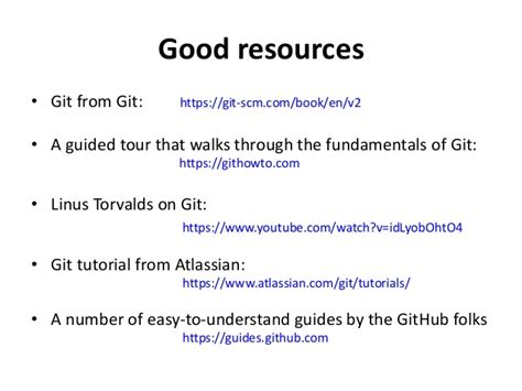 advanced git tutorial linus torvalds introduction to git and github