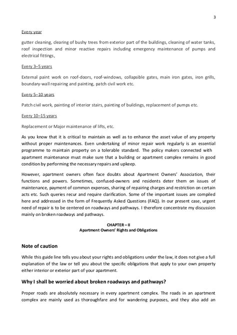 Complaint Letter Definition And Sle Apartment Maintenance Charges Letter 28 Images 9 Tenant Complaint Letter Templates Free Sle