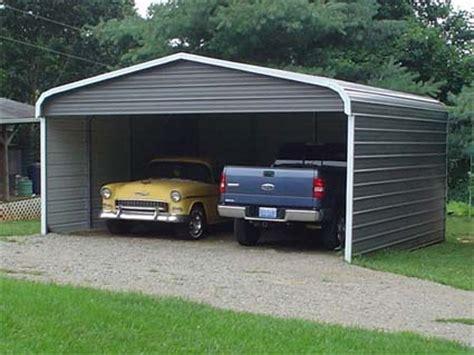 Closed Carport 20 X 26 X 7 Standard Eco Friendly Steel Carport W