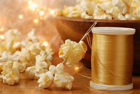 stringing popcorn for christmas why we string popcorn and other food facts
